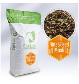 Pro-Linen® Ride&Feed Musli™ energetyczo-regeneracyjny koncentrat paszowy dla koni wyczynowych 20kg
